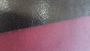 Leather identification in pictures