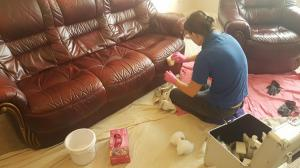 Leather chair cleaners Doncaster