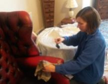 Leather sofa cleaning in Doncaster