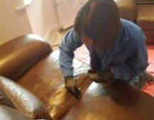 Leather cleaning Doncaster