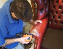 Leather repair and restoration Doncaster